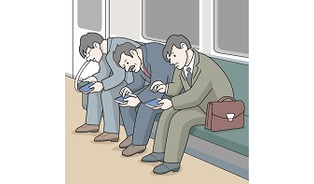 パソコンやスマホを見る姿勢に注意=首や腕の痛み、頸椎椎間板ヘルニア